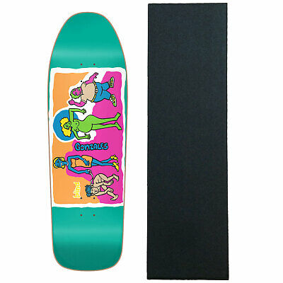 940759e360 BLIND RE-ISSUE SKATEBOARD Deck Screen Printed Gonz Colored People Blue with  Grip