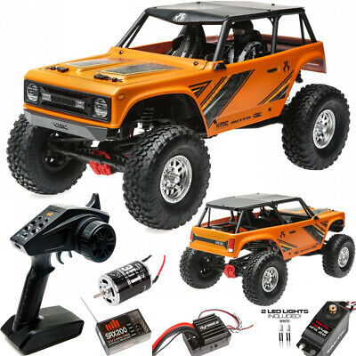Axial AXI90074T1 1/10 Wraith 1.9 Electric 4WD Off-Road RTR Rock Crawler Orange