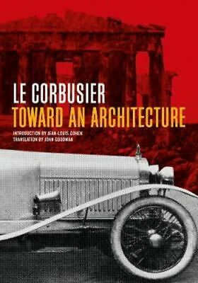NEW Toward an Architecture By Le Corbusier Paperback Free Shipping