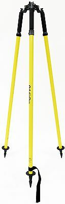 AdirPro Thumb Release Yellow Prism Pole Tripod Surveying Total Station Topcon