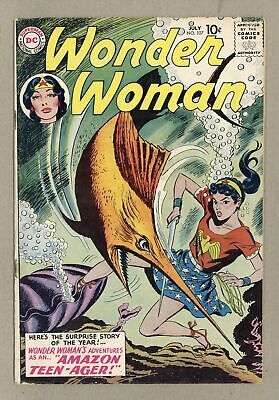 Wonder Woman (1st Series DC) #107 1959 VG 4.0