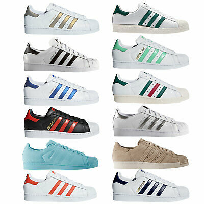 detailed look bc31e 7f0bb Adidas Originals Superstar Sneaker da Uomo Scarpe Ginnastica Sport Casuale