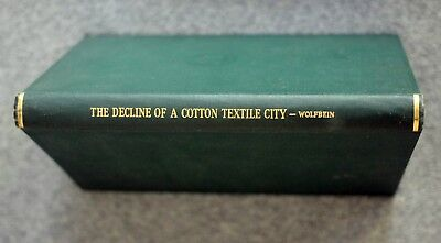 1944 NEW BEDFORD MASSACHUSETTS Decline Cotton Textile City SEYMOUR WOLFBEIN Mill