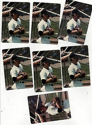 VINTAGE WADE BOGGS Photograph Lot PHOTOS Photo BOSTON RED SOX MLB Baseball