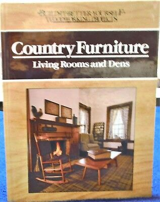 """Country Furniture Living Room & Dens"" From Rodale Press 1989 Made In The U.S.A"