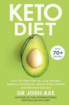 NEW Keto Diet By Josh Axe Paperback Free Shipping