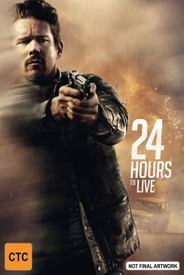 24 Hours To Live (DVD, 2018) REG 4 - NEW AND SEALED - FREE POSTAGE