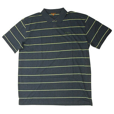 Hommes Ben Sherman Rayure Mode Indie Peau Coton Polo Piqué Grand King Taille 3x
