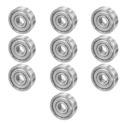 10pcs 3D Printer Parts Mini Carbon Steel Deep Groove Shaft Flanged Ball Bearings