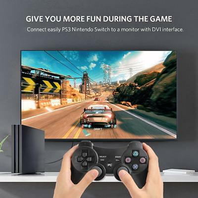 Wireless Controller SIXAXIS Gamepad Remote for Sony Playstation 3 Black