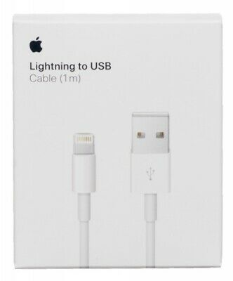 OEM Original Lighting USB Charger Data Cable Apple iPhone 5 6 7 8 Plus Xs 1m/3ft