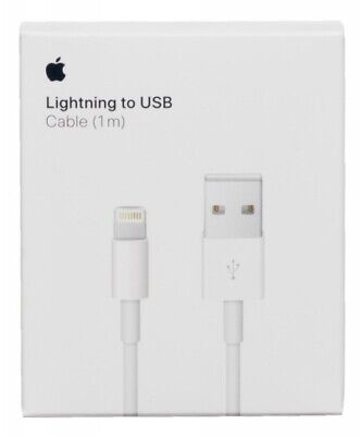 OEM Original USB Lighting Charger Data Cable Apple iPhone 5 6 7 8 Plus Xs 1m/3ft