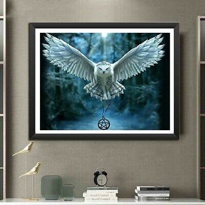 AU Hedwig Harry Potter Full Drill 5D Diamond Painting Embroidery Cross Stitch HE