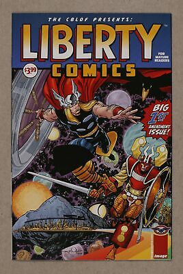 CBLDF Presents Liberty Comics (Image) 1C 2008 VF+ 8.5