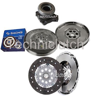 2 Part Clutch Kit And Sachs Dmf With Csc For Vauxhall Signum Hatchback 1.9 Cdti