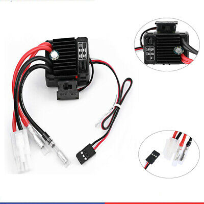 12Electronic Speed Controller For RC 1/10 Car Waterproof Brushed ESC 1060 60A UK