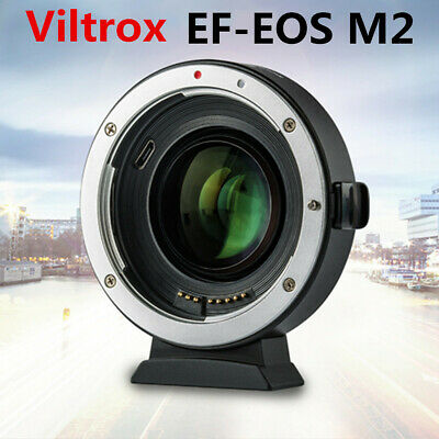 Viltrox EF-EOS M2 Auto Focus Lens Adapter 0.71X For Canon EF Lens to EOS-M50