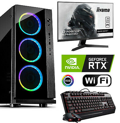 Gamer PC Mega Intel i9 9900K RTX2060 RTX2070 RTX2080 SSD 512 GB 16 GB 2TB HDD