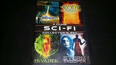 Sci Fi Thrillers Collectors Set Dvd 2010 4 Films Movie Video The Code Conspiracy