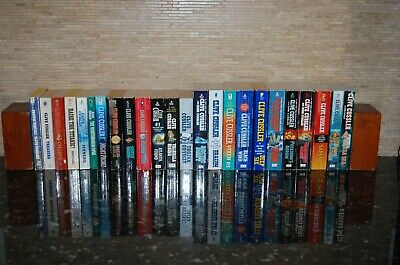 Complete First 24 Volumes Series of Dirk Pitt by Clive Cussler