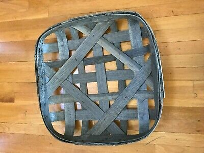 "Antique N.C. Tobacco Basket - New Old Stock - 23"" x 23"""