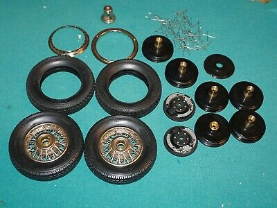 Mercedes Benz Pocher 1/8 Wheel & Tire Lot What You See is What You Get.