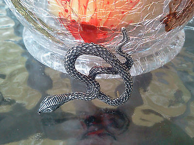 Snake Jewelry 1 Cobra Pewter Pin All New.