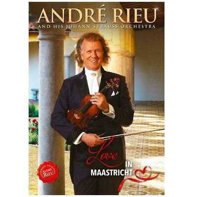 ANDRE RIEU LOVE IN MAASTRICHT DVD (New Release March 22nd 2019)