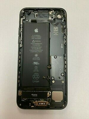 iPhone 7 Black Original USED Battery Metal Housing Back Cover Replacement