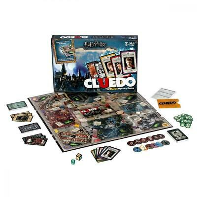 Winning Moves 029728 Harry Potter Cluedo Mystery Jeu de Société, Version Anglais