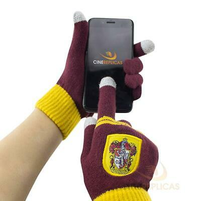 Cinereplicas Gants Tactiles Harry Potter - Gryffondor, Serpentard ou...