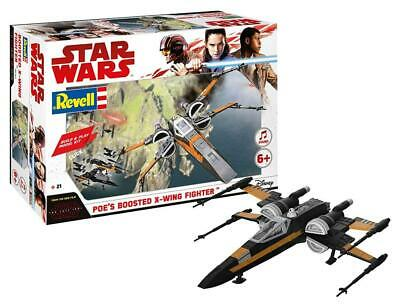 Revell - 06763 - Star Wars - Les derniers Jedi - Poe Boosted X Wing Fighter