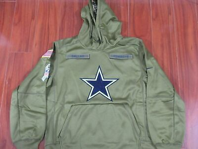 super popular 2889e c4b35 NWT DALLAS COWBOYS Salute 2018 Salute to Service Therma Fit Hoodie