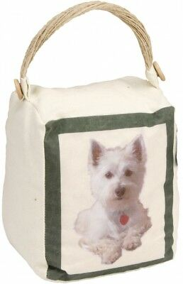 16,5cm Best of Breed Türstopper Hund West Highland Terrier Westi weiss