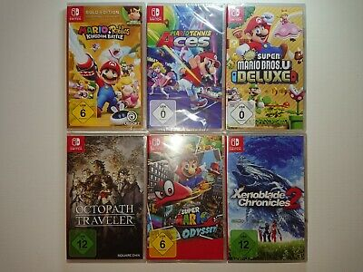 Nintendo Switch Spiele (Minecraft, MotoGP, Rocket League,..) NEU+OVP