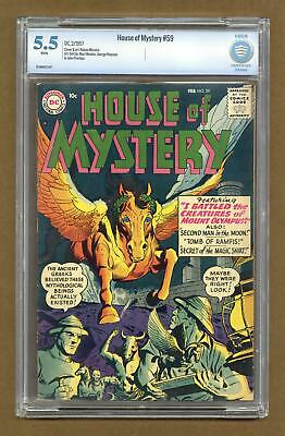 House of Mystery (1st Series) #59 1957 CBCS 5.5