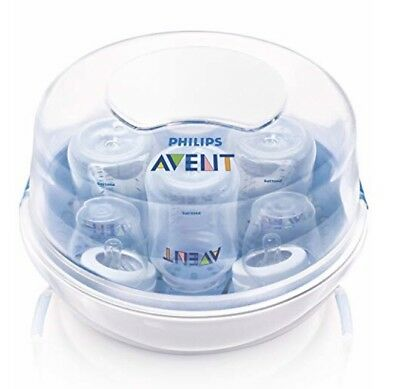 Philips AVENT Microwave Steam Sterilizer For Baby Bottles BPA Free (B1)