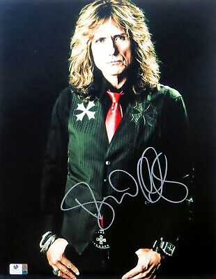 David Coverdale Signed Autographed 11X14 Photo Whitesnake Singer Pose GV809534