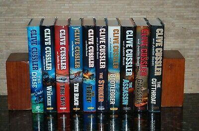 Complete 10 Hardcover Volume Series of Isaac Bell Adventures by Clive Cussler