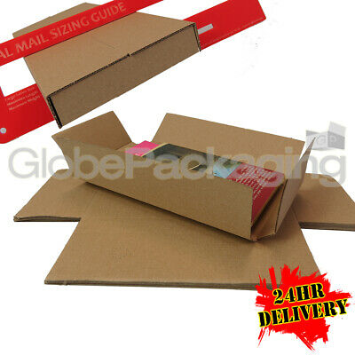100 x DL SIZE ROYAL MAIL LARGE LETTER PIP SHIPPING POSTAL POSTAGE MAILING BOXES