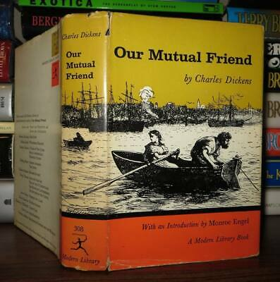 Charles Dickens OUR MUTUAL FRIEND Modern Library Edition