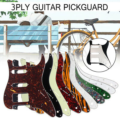 HSS 3 Ply Scratchplate Guitar Pickguard For Fender USA/ MEX Strat Stratocaster