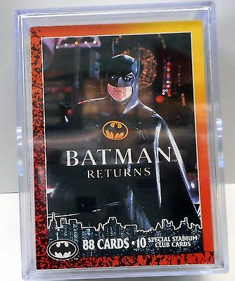 Batman Returns Topps Card Set w/ Chase Cards 1992