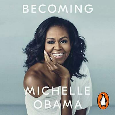 Becoming by Obama, Michelle, NEW Book, (Audio CD) FREE