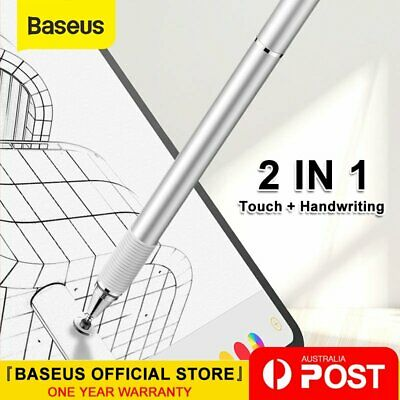 Baseus Capacitive Stylus Pencil Touch Screen Pen for iPad iPhone Tablet Galaxy