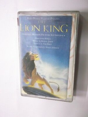 THE LION KING OST   RARE orig CASSETTE TAPE INDIA indian