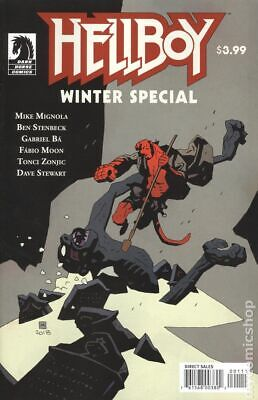 Hellboy Winter Special (Dark Horse) #0A 2018 Mignola NM Stock Image