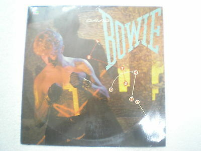 DAVID BOWIE LETS DANCE RARE LP record INDIA INDIAN 64 VG+