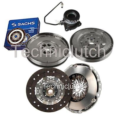 2 Part Clutch Kit And Sachs Dmf With Csc For Vauxhall Vectra Saloon 1.9 Cdti
