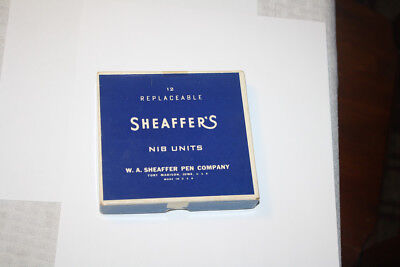 Rare Vintage Asst Sheaffer Fountain Pen Replacement Manifold Nibs NEW OLD STOCK